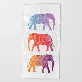 Elephantz Beach Towel