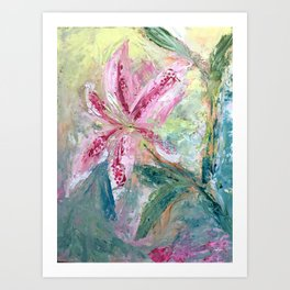 Spring Flowers are Almost Here Art Print