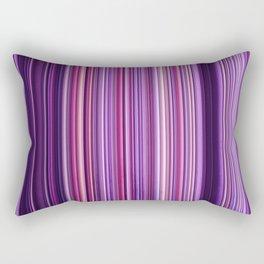 Pink Purple Stripes Rectangular Pillow