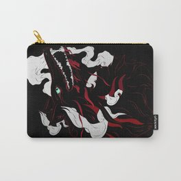 Black Evil Wolf Carry-All Pouch