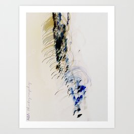 in ictu oculi Art Print
