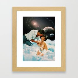 The Beautiful and the Damned Framed Art Print