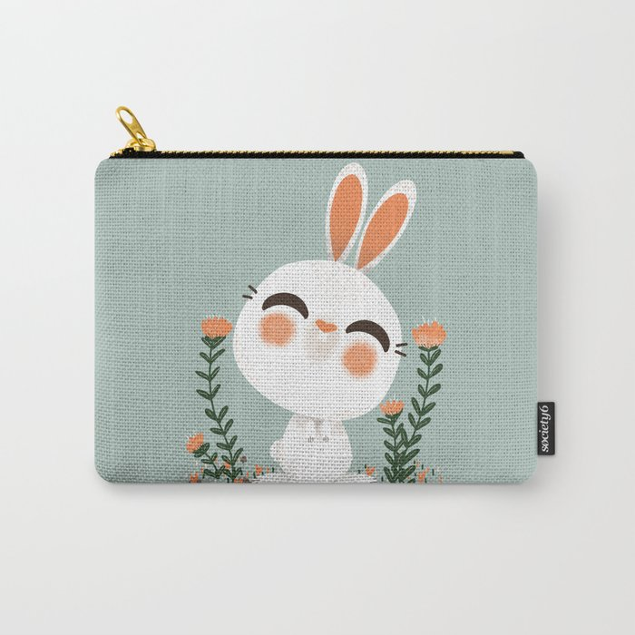"The ""Animignons"" - the Rabbit Carry-All Pouch"