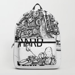 Hard.not for wimps Backpack