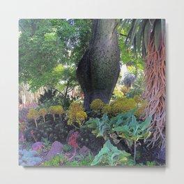 Big Hipped Tree Metal Print