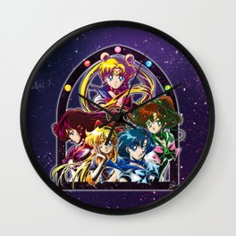Sailor Moon S (Universe edit.) Wall Clock