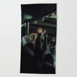 No Closer To Heaven Beach Towel