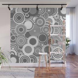 circles-grey Wall Mural