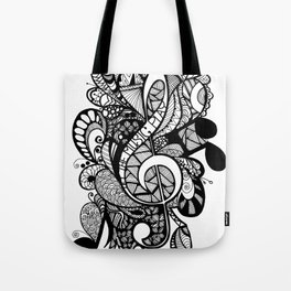 Let the music play! Tote Bag