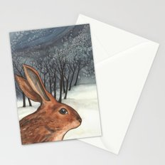Ten of Rabbits Stationery Cards