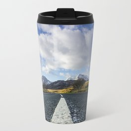 Road To Snowdon Travel Mug