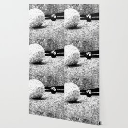 Billiards Art 4 Black and white Wallpaper