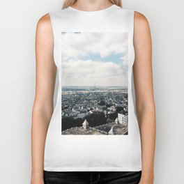 The City of Paris Biker Tank