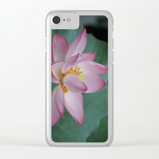 Hangzhou Lotus Clear iPhone Case