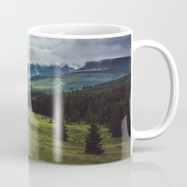 Mountain Trail - Landscape and Nature Photography Coffee Mug