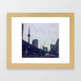 The Six Framed Art Print