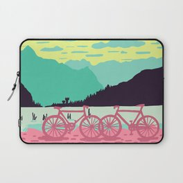 Bicycles on the lake Laptop Sleeve