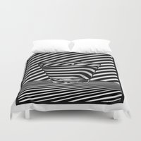 tequila Duvet Covers featuring Trippin' Tequila by Ana Lillith Bar