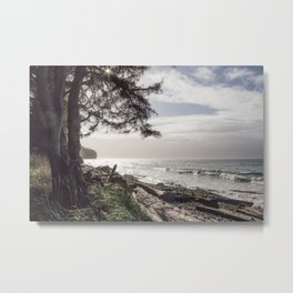 French Beach I Metal Print