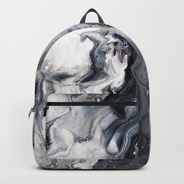 Marble B/W/G Backpack