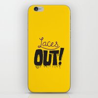 patriots iPhone & iPod Skins featuring Laces out! by Chris Piascik