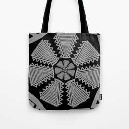 tripped Tote Bag