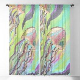 jellyfish Sheer Curtain