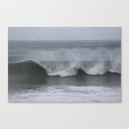 Winter Swells Southern California  Canvas Print