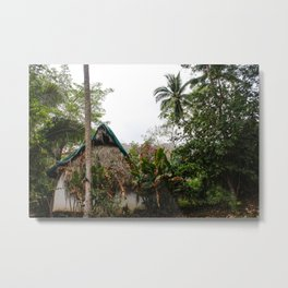 Dreamy Mexican Casa Metal Print