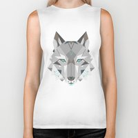 into the wild Biker Tanks featuring Wild by Nayla Smith