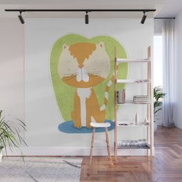Tommy The Cat Wall Mural