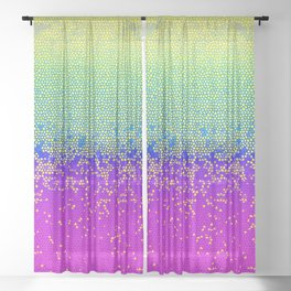 Glitter Star Dust G289 Sheer Curtain