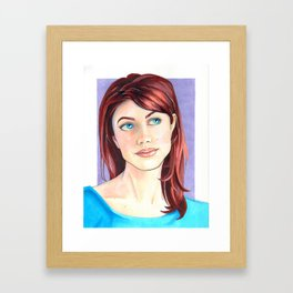 Becki Framed Art Print