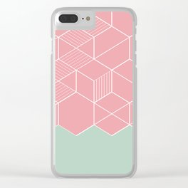 SORBETECORAL Clear iPhone Case