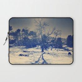 Winter sun. Vintage Laptop Sleeve