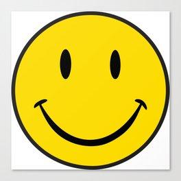 Smiley Happy Face Canvas Print