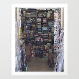 Bookstore Art Print