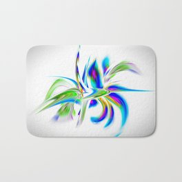 Abstract perfection - Flower Magical Bath Mat