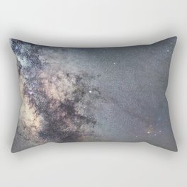 Starry sky with millions of stars, Milky Way galaxy, Antares Region Rectangular Pillow