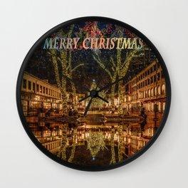Merry Christmas, Boston Wall Clock