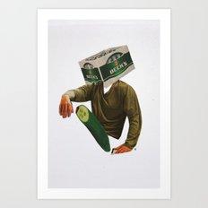 Normal Life · Alles im grünen Bereich Art Print