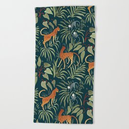Monkey Business Beach Towel