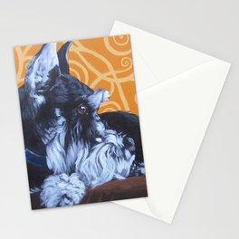 Remmington Schnauzer Stationery Cards