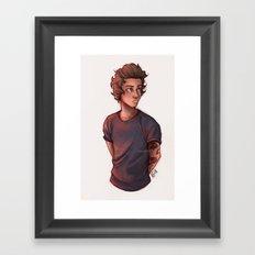 Hazza Framed Art Print