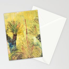 Rustic Grass Tree Stationery Cards