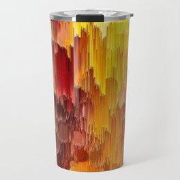 Sun Kissed Hidden Bubble Art Abstract Travel Mug