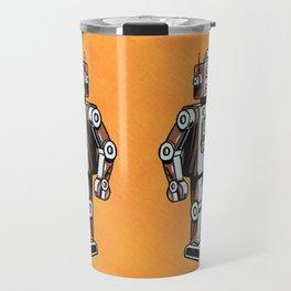 Retro Robot Toy Travel Mug