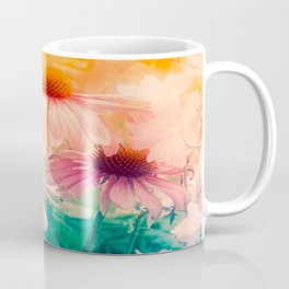 Happy Summerflowers Pastell Coffee Mug