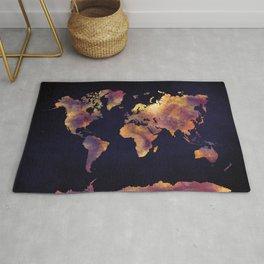 world map 64 Rug