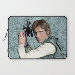 Han Solo StarWars Movie Poster Print Laptop Sleeve